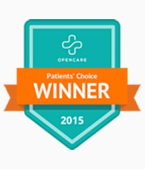 Open Care Patients Choice of 2015 Winner Badge