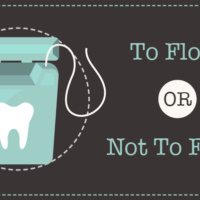 To floss or not to floss graphic